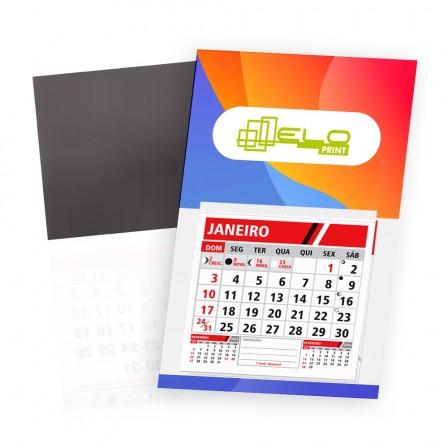 Postal Calendário Imã Personalizado